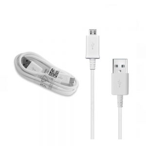 Samsung S4 Micro USB Cable White