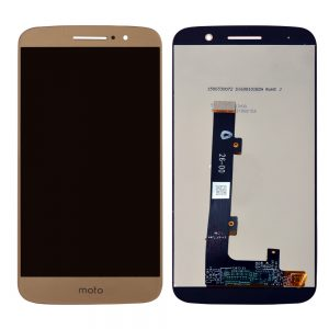 Motorola Moto E4 Plus Lcd with Digitizer Gold