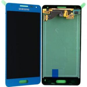 Samsung Galaxy Alpha Blue LCD Screen