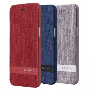 Samsung Galaxy S8 and S8 Plus G-Case Canvas Slim Wallet Case