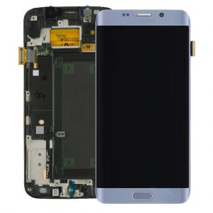 Service Pack Samsung Galaxy S6 Edge Silver LCD Screen