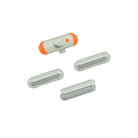 For iPad Mini Side Keys Silver ,Spare Parts