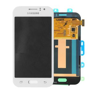 Samsung Galaxy J1 Ace SM-J110 White LCD Screen with Digitizer