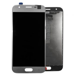 Samsung Galaxy J3 Silver LCD Screen