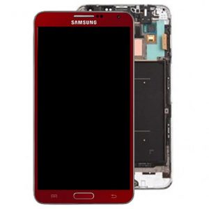 Samsung Galaxy Note 3 Red LCD Screen