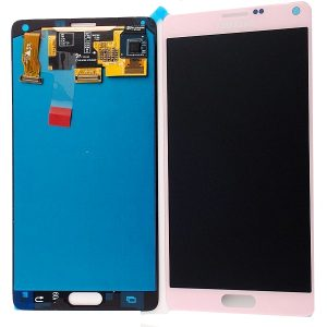 Samsung Galaxy Note 4 Pink LCD Screen
