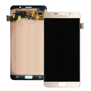 Samsung Galaxy Note 5 Gold LCD Screen