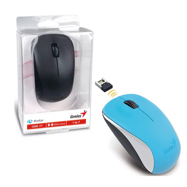 Wireless Mouse Blue Genius NX-7000