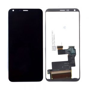 LG Q6 Black Lcd Screen