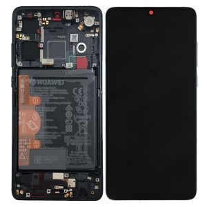 HUAWEI P30 LCD DISPLAY BLACK SERVICE PACK