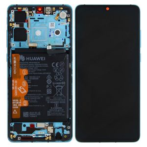 Huawei P30 Aurora Blue LCD Screen Service Pack