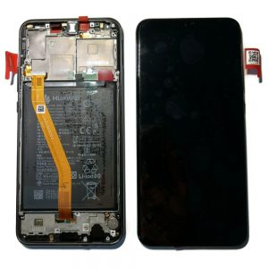 Huawei Nova 3 Black Lcd Screen