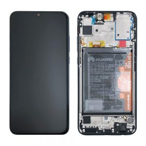 Huawei P Smart (2019) LCD Screen Black Service Pack