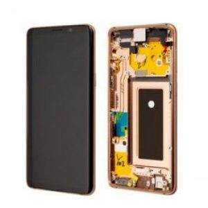 Samsung S9 G960 LCD Screen Service Pack Gold