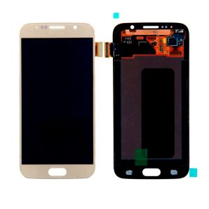 Samsung Galaxy S6 G920 LCD Screen Service Pack Gold
