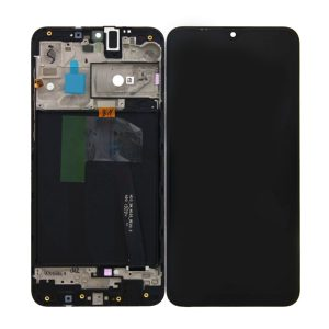Samung Galaxy A10 A105 Lcd Screen with frame Service Pack