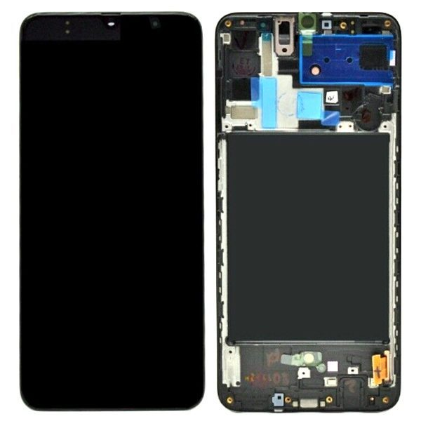 Samsung Galaxy A80 A805 LCD Screen Service Pack black