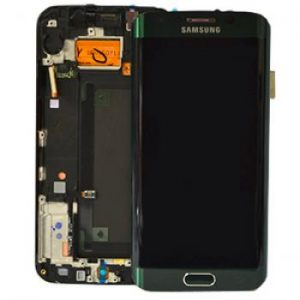 Samsung Galaxy S6 Edge G925 LCD Screen Service Pack Green