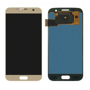 Samsung Galaxy S7 G930 LCD Screen Service Pack Gold