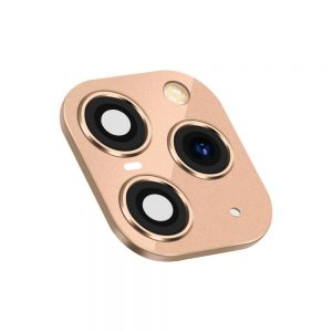 iPhone 11 Pro Replacement Camera Lens With Frame And Sticker Gold