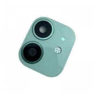 For iPhone 11 Replacement Camera Lens With Frame And Sticker Green