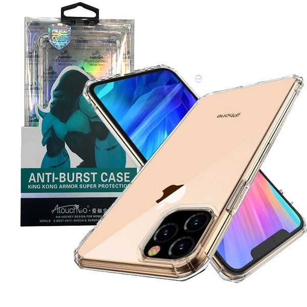 iPhone 11 Pro Max 6.5 inch 2019 Anti-Burst Protective Case Clear