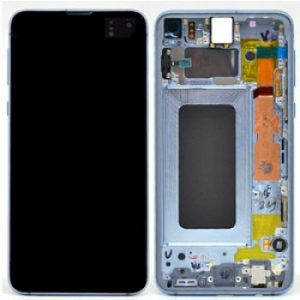 Samsung S10e G970 LCD Screen Service Pack Blue