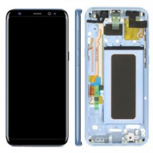 Samsung S8 Plus G955 LCD Screen Service Pack Coral Blue