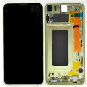 Samsung S10e G970 LCD Screen Service Pack Yellow