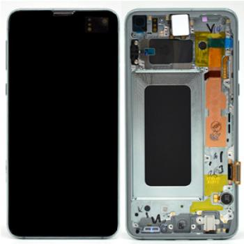 Samsung S10e G970 LCD Screen Service Pack Green