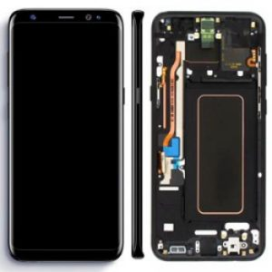 Samsung Galaxy S8 Plus G955 LCD Screen Service Pack Midnight Black