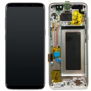 Samsung Galaxy S8 G950 LCD Screen Service Pack Arctic Silver