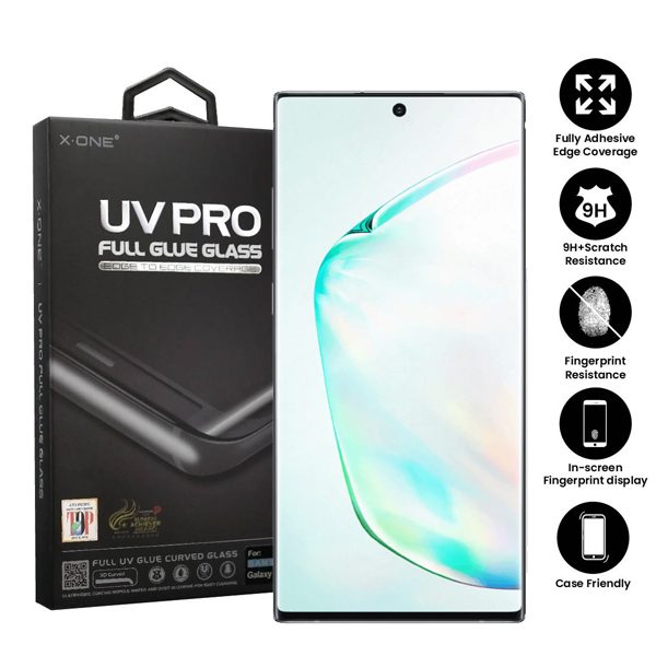 Samsung Galaxy Note 10 Note 10 5G Full Glue UV Tempered Glass