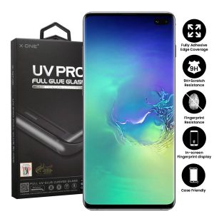 Samsung Galaxy S10+ Plus Full Glue UV Tempered Glass Screen Protector