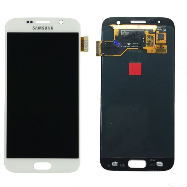 Samsung Galaxy S7 G930 LCD Screen Service Pack White