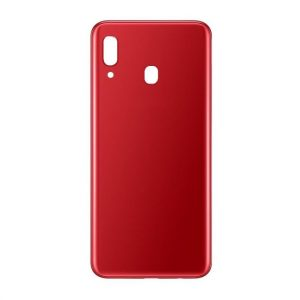 Samsung Galaxy A20-Replacement Battery Cover Red