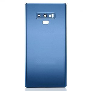 For Samsung Galaxy Note 9 Replacement Glass Battery Cover -Blue
