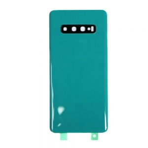 For Samsung Galaxy S10 Replacement Glass Battery Cover -Green