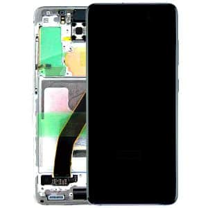 Genuine Samsung Galaxy S20 G980 LCD Screen White Service Pack