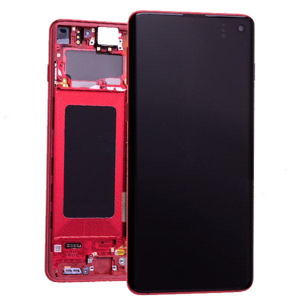 S10 LCD Screen RED