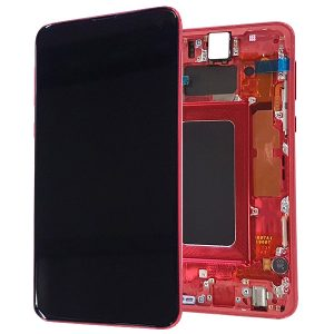 Samsung S10e G970 LCD Screen Service Pack Cardinal Red