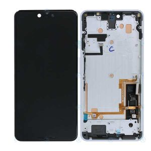 Genuine Google Pixel 3 XL Lcd screen Display and touchpad in Clearly White