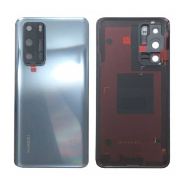Genuine Huawei P40 Battery Back Cover Frost Silver