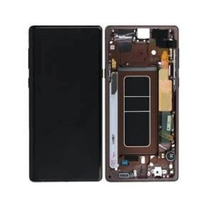 Samsung Galaxy Note 9 N960 LCD Screen Service Pack Gold Metallic Copper