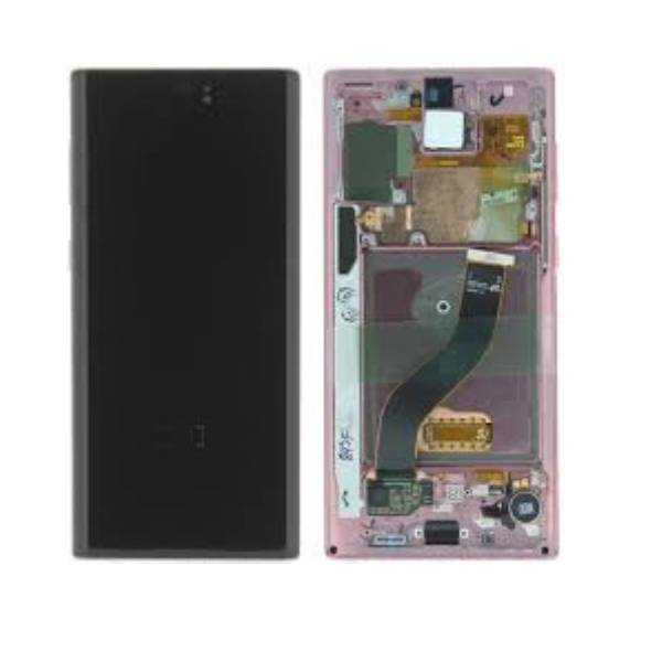 Samsung Galaxy Note 10 N970 LCD Screen Service Pack Aura Pink