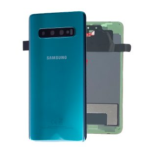 Genuine Samsung Galaxy S10 Prism Green Battery Cover