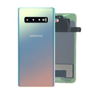 Genuine Samsung Galaxy S10 G973 Battery Back Cover Silver
