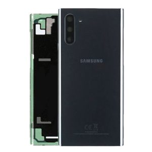 Genuine Samsung Galaxy Note 10 N970 Battery Back Cover Black