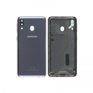 Samsung Galaxy M20 Battery Back Cover Black