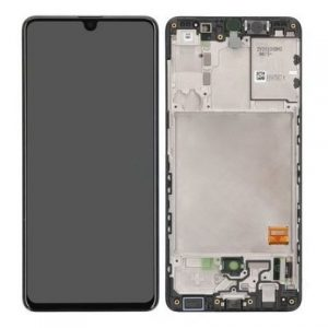 Samsung Galaxy A41 A415 2020 LCD Screen Service Pack Black